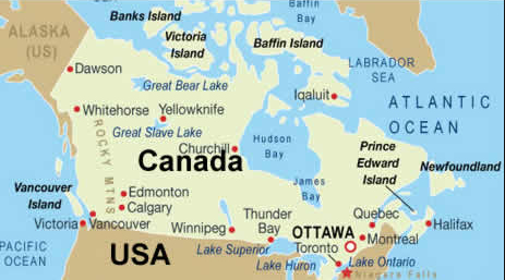 people in Canada map-image