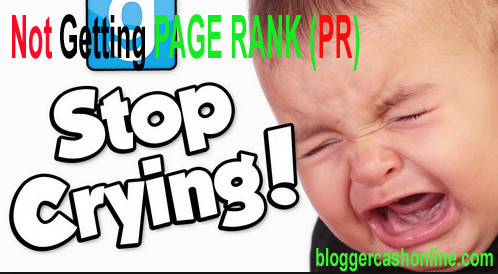 reason why not increasing page rank