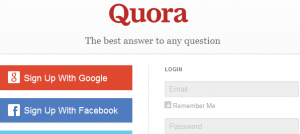 Quora to drive traffic to my site-images